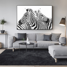 Black And White Line Canvas Art Paintings On The Wall Abstract Zebra Animals Posters Prints Cuadros Pictures Home Decor