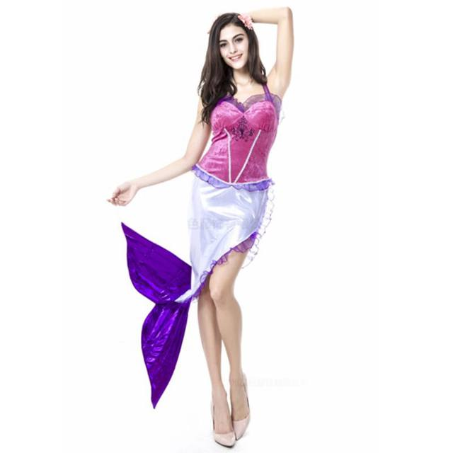 Adult mermaid halloween costumes