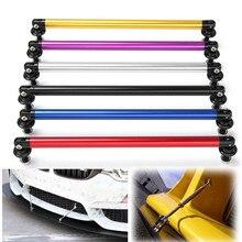 2 pz Universale 200mm Regolabile Anteriore Paraurti Lip Splitter Supporto Asta Bar Esterno Auto Lip Bumper Splitter Rob paraurti