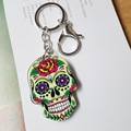 Cute Mouse Marvel Acrylic Key Chain For Keys Women Girl Decorative sugari skull Keychain Charm Pendant Jewelry Aceessories