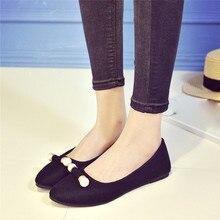 2017 Printemps Été Femmes Mode Casual Confortable Plat Chaussures Peu Profonde Chaussures Travail Chaussures Chaude Femmes Chaussures Size35-40 zapatos mujer