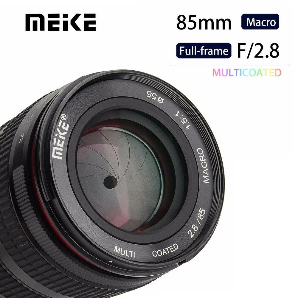 Meike MK-85mm F/2.8 Full Frame APS-C Super Moyen Téléobjectif Macro Objectif pour Fuji Fujifilm X-Montage Micro Caméra unique