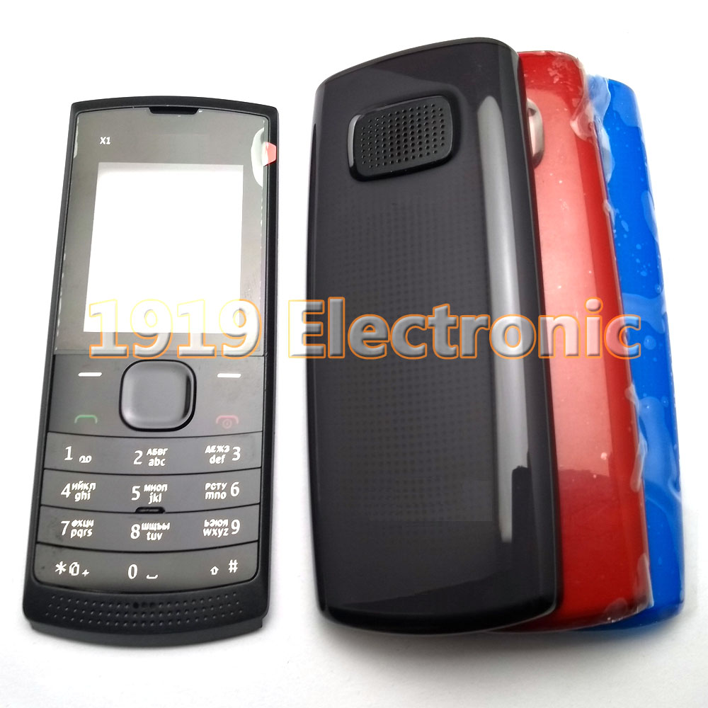 Case Mobile-Phone-Housing-Cover Russian-Keypad X1x1-00x1-01 Nokia New with English Or