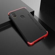 Xiaomi için telefon kılıfı mi mi x 2s Alu mi num Metal çerçeve sert Plastik Arka Kapak Için xiaomi mi mi mi x 2s Fundas Mükemmel Duygu