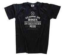 Ich komme aus Ironien am sarkastischen Meer T-Shirt S-XXXL Harajuku Tops t shirt Fashion Classic Unique free shipping