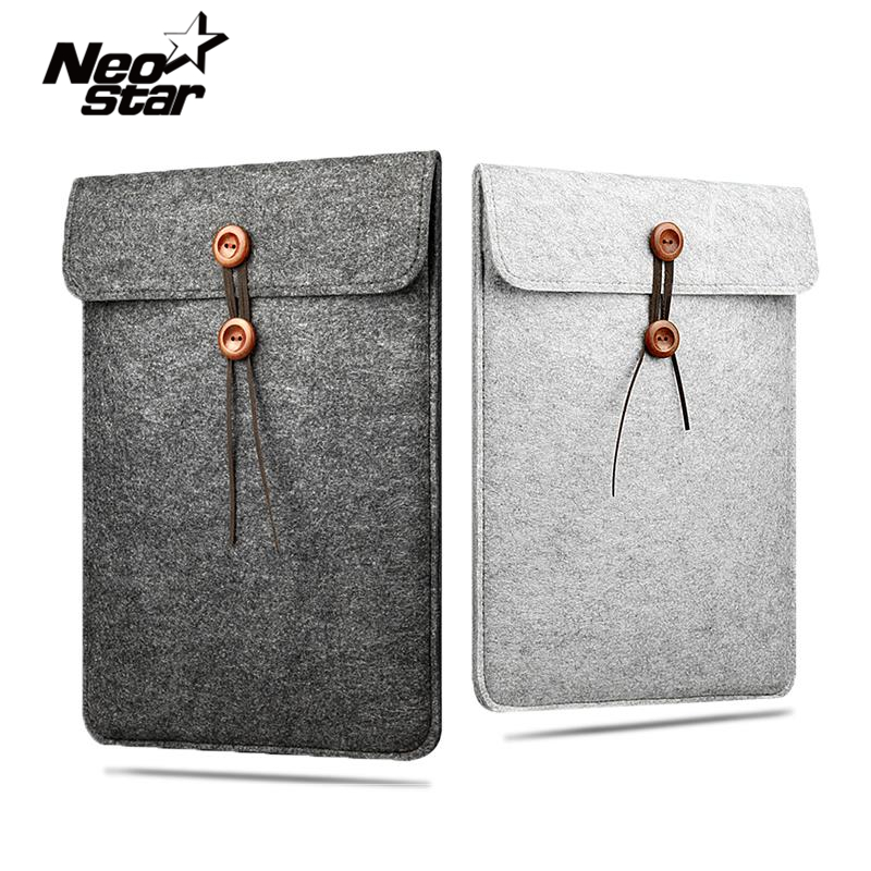 Wool Felt Laptop Sleeve Bag For Macbook Air Pro Retina 11 13 15 Notebook Case Pouch For Mac Computer Cover Handbag hot soft felt sleeve bag case for apple macbook air pro retina 11 12 13 15 laptop anti scratch cover for mac book 13 3 inch