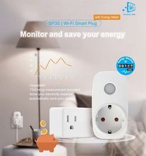 цена на Broadlink SP3 SP3s EU US 16A Timer plug,Power Meter Energy Monitor,APP Controls for ios Android,domotica Smart Home Automation