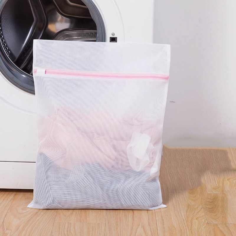 Hoomall Clothes Bra Underwear Washing Bag Laundry Bag Mesh Net Wash Bag Pouch Laundry Basket For Washing Machine