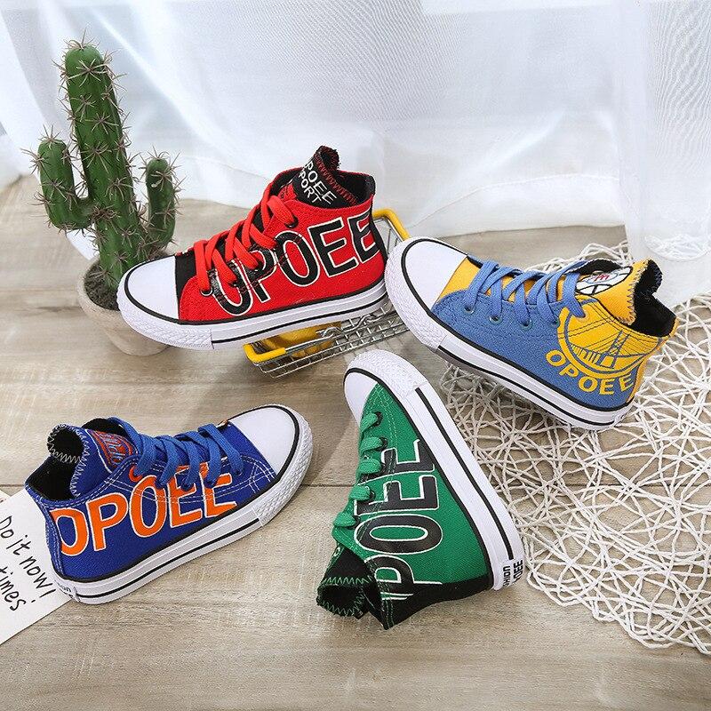 culto estilos sapatas de lona para meninos das meninas do bebe denim sapatas dos miudos sapatos