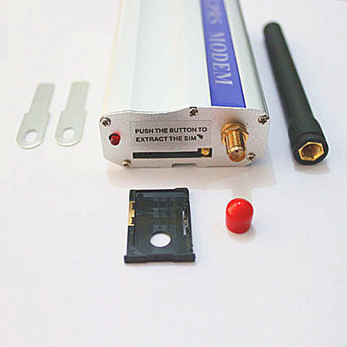 GSM Q24plus low cost RS232 modem starter kit AT command gsm modem