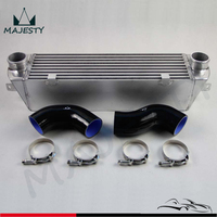 Doble TURBO conjunto de intercooler para BMW 135 135i 335 335i E90 E92 2006-2010 N54 negro