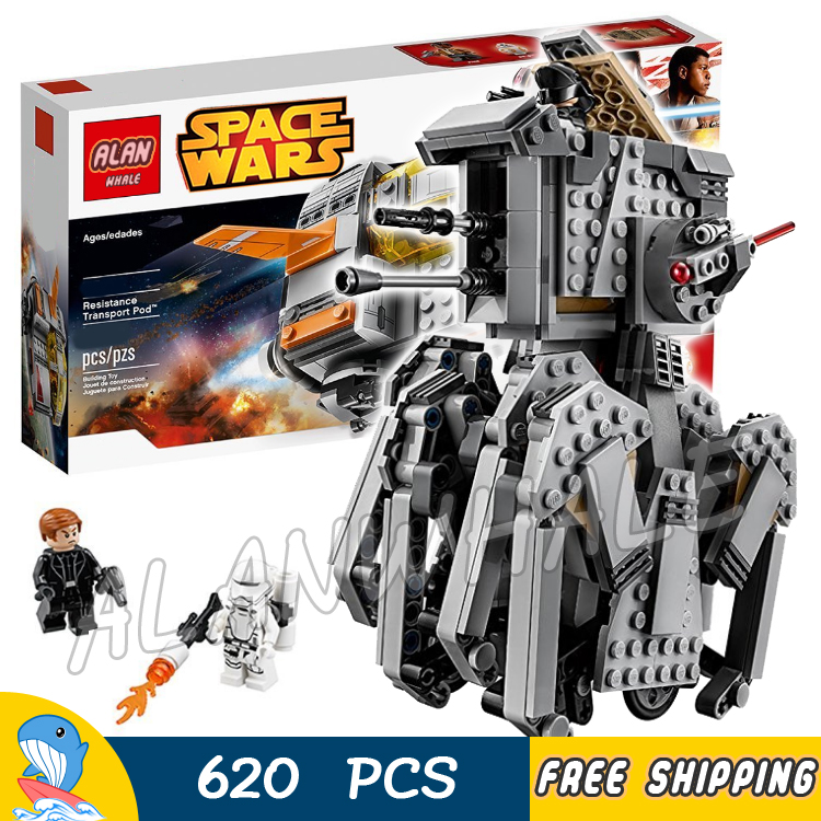 620pcs Space Wars First Order Heavy Scout Walker Robot 05126 Model Building Blocks Assemble Toys Bricks Set Compatible With Lego