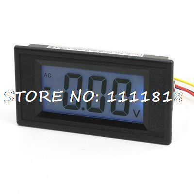Panel Mounted LCD Display Voltage Measuring Voltmeter AC 20VPanel Mounted LCD Display Voltage Measuring Voltmeter AC 20V