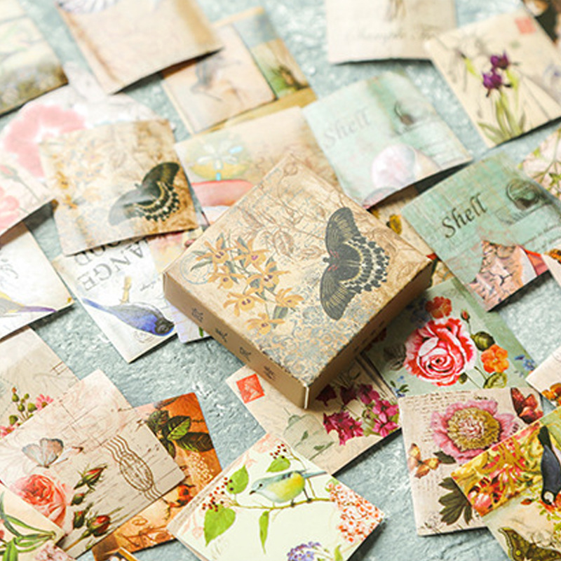 Butterfly Bullet Journal Decorative Washi Stickers Scrapbooking Stick Label Diary Stationery Album Stickers