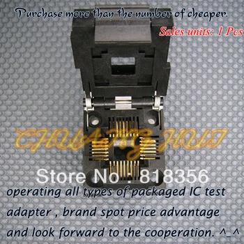IC51-0324-453 IC Test Socket / Programmer Adapter / Burn-in Socket (PLCC32) 100% new ic51 0162 sop16 ic test socket programmer adapter burn in socket ic51 0162 271