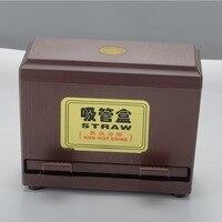 Pepsi Drink Pipette Box Coffee Shop Bar Milk Tea Shop Store PVC Straw Box Storage Box