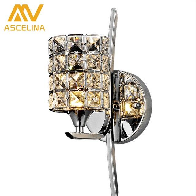 Aliexpress Com Buy Modern Crystal Wall Lamp Sconce K9