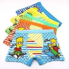 3 Unids/lot Nio Cartoon Infant Underwear Childrens 3-11 And