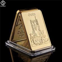 Norway Norse Mythology Odin Father of The Gods 1OZ Gold Bullion Bar Collection