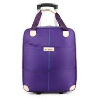 20 Inch Trolley Bag Men And Women Travel Luggage Soft Bag Waterproof Lylon Bag Portable Business