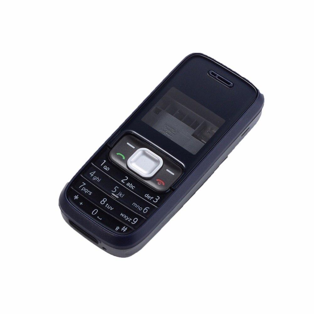 For Nokia 1209 Housing Front Frame +Battery Door+keypad+tool