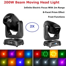 Lyre LED 200W Beam / Spot Moving Head DMX 512 Moving Head Light Professional DJ /Bar /Party /Show /Stage Light LED Stage Machine professional american dj stage light cree 10w led pocket moving head spot lcd display rotating color gobo wheel manual focus