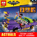 New 433Pcs Lepin 07046 Genuine Movie Series The Joker`s Lowrider Set Building Blocks Bricks Educational Toys with 70906