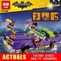 Nuevo 433 Unids Lepin 07046 Genuino Serie Movie El Joker Lowrider Conjunto de Bloques de Construcción Ladrillos de Juguetes Educativos con 70906