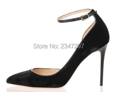 ФОТО 2017 Spring Women Mary Jane High Heels Elegant High Heel Pumps Ankle Buckle Strap Evening Dress Pumps Party Shoes Stilettos