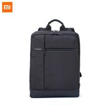 Оригинал Xiaomi Classic Бизнес Рюкзаки Большой Емкости Студенты Сумки Мужчины Женщины Сумка Рюкзак Подходит для 15-дюймовый Ноутбук GTop