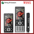 W995 Original Unlocked Sony Ericsson W995 8MP WCDMA 3G 930 mAh GPS Bluetooth WIFI Mobile Phone Free shipping