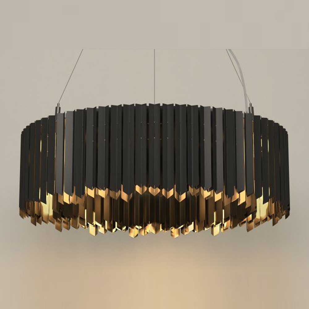 stainless steel modern chandelier led light suspention luminare dinning room living room lamp стоимость