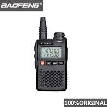 % 100% orijinal en iyi fiyat Baofeng UV 3R Mini telsiz çift bant VHF UHF taşınabilir UV3R iki yönlü telsiz Ham Hf telsiz UV 3R