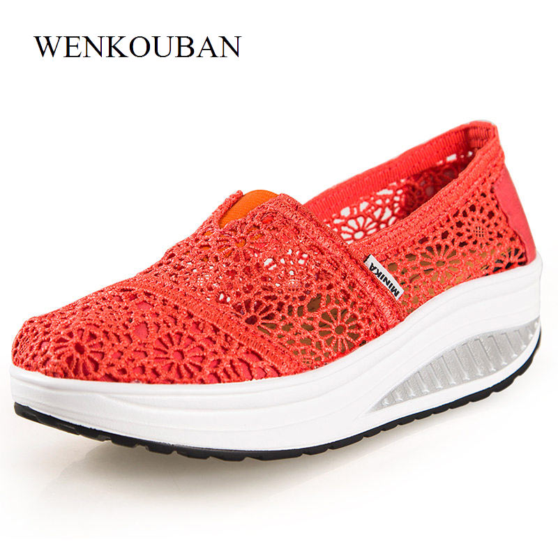 Designer Platform Shoes Women Flats Loafers Creepers Summer Sneakers Trainers Ladies Casual Shoes Slip on Blue Zapatos Mujer women shoes summer flat female loafers zapatos mujer women casual flats woven shoes sneakers slip on colorful sneakers mujer ax4