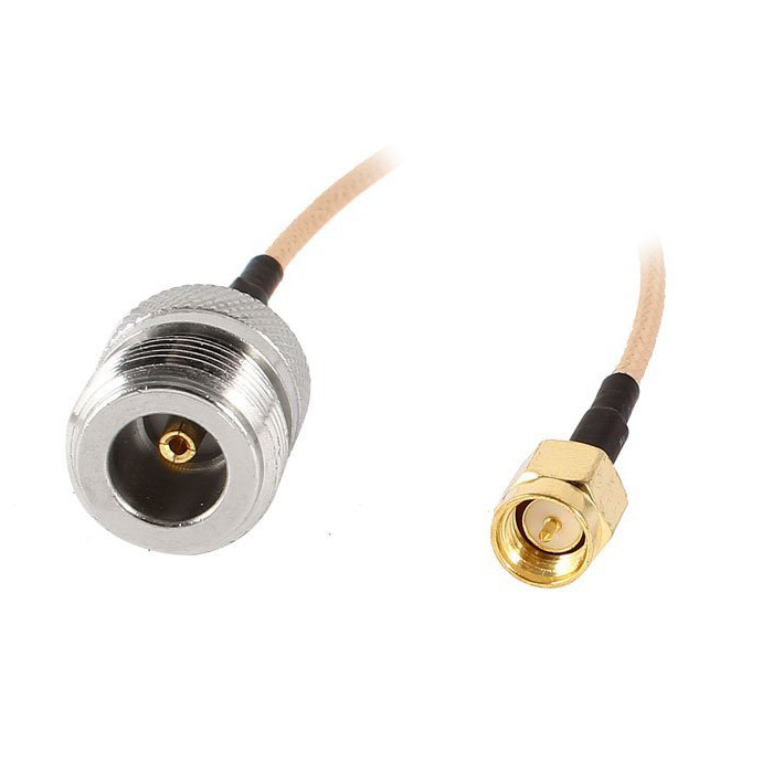 225mm/9inch N-Type Male Plug to SMA Female Jack Adapter Pigtail Cable225mm/9inch N-Type Male Plug to SMA Female Jack Adapter Pigtail Cable