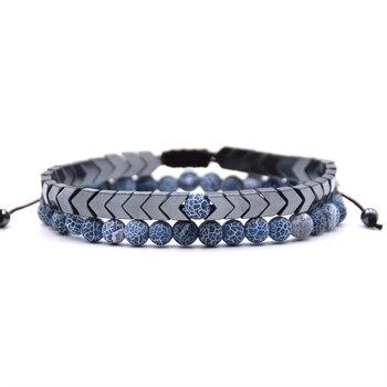 Bracelet longue distance bleu