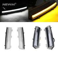 Дымчатый/прозрачный объектив белый светодиодный DRL дневные ходовые огни + желтый сигнал поворота для Nissan LCI 350Z 2006 2009