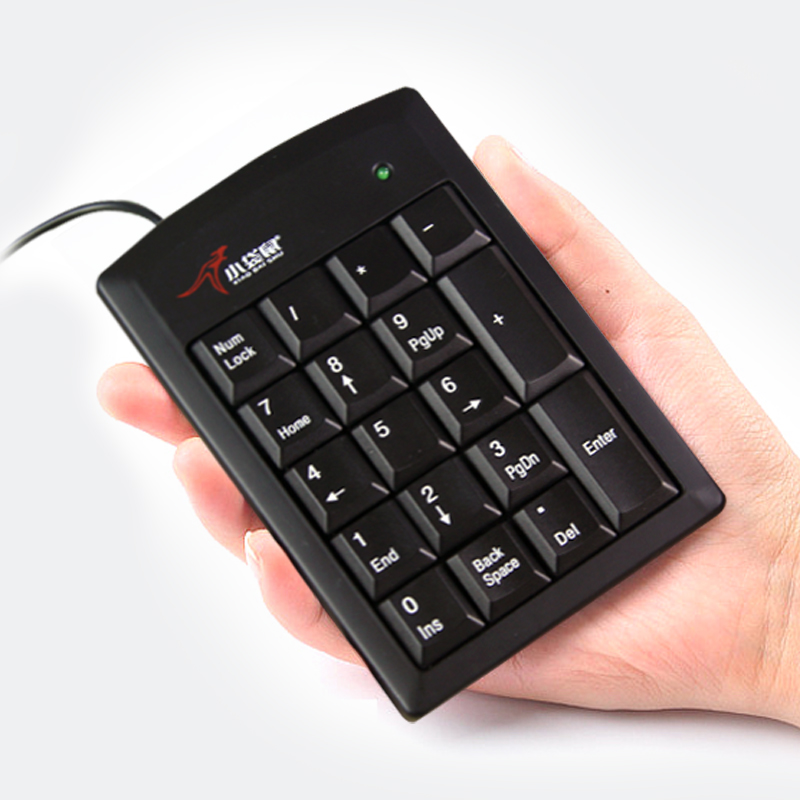 Free Shipping PS/2 19 Keys Keypad Numeric Keyboard Multifunction Wired Number Calculator For Laptop Easy To Use win7 ps2 numpad