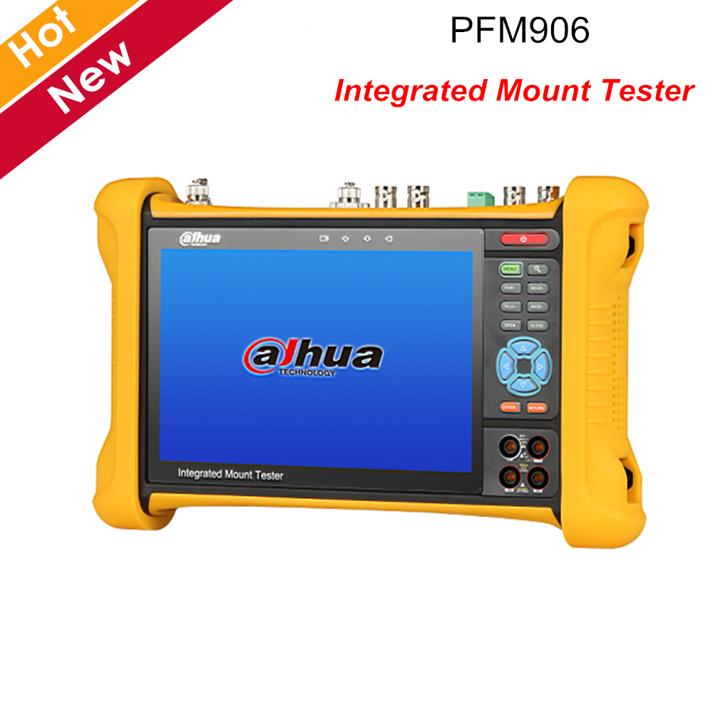 "Dahua PFM906 Integrated Mount Tester 7"" IPS HD Retina Capacitive Touch Screen Support POE HDMI Input Output Camera Accessories"