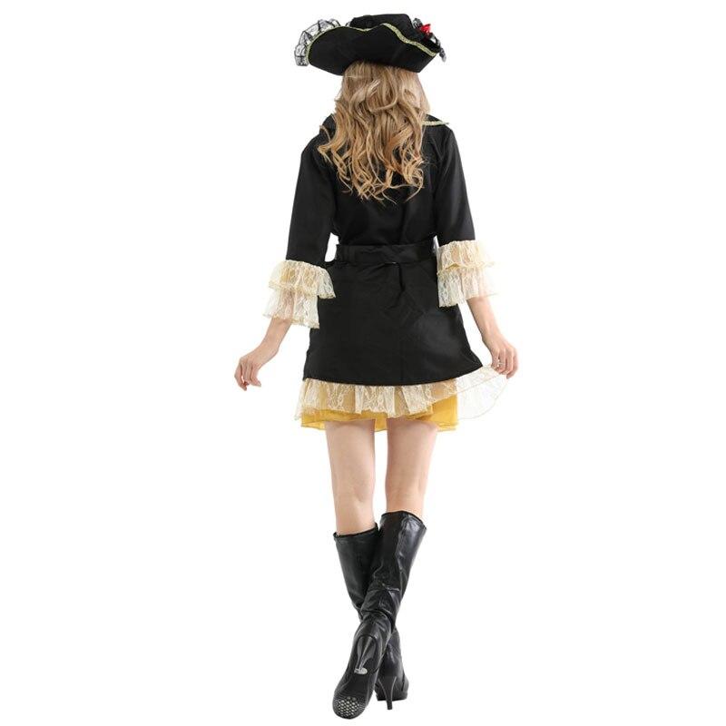 Ladies Pirates Buccaneer Halloween Costume 4