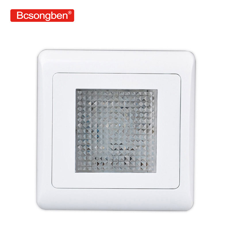 86 LED embedded foot light switch control stairs garden indoor outdoor bedroom wall led lamp 220v86 LED embedded foot light switch control stairs garden indoor outdoor bedroom wall led lamp 220v
