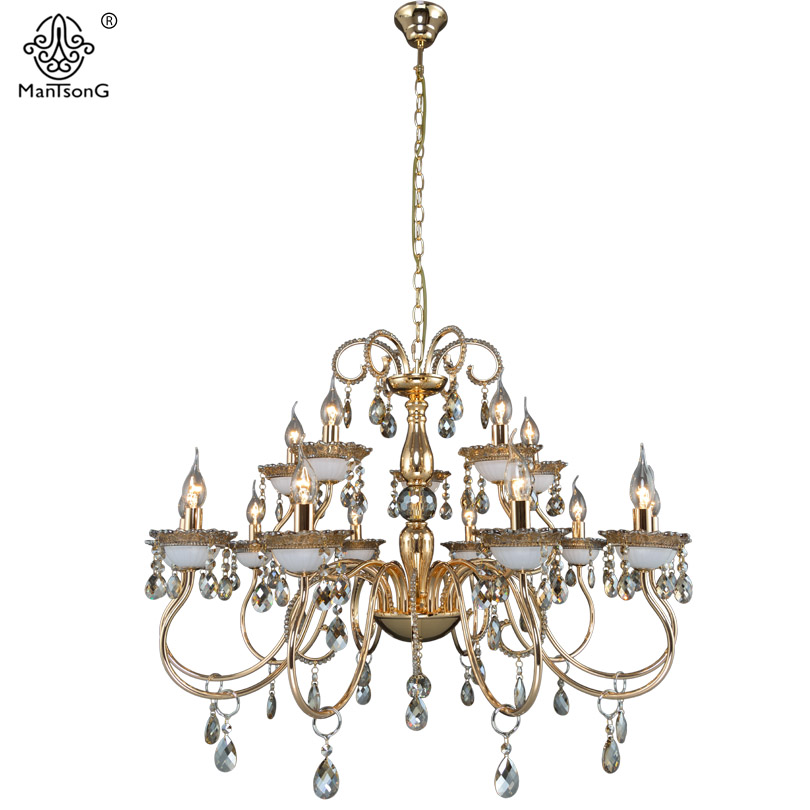 Luxury Crystal Pendants Chandeliers Lights Vintage Pendant Lamp for Living Room Bedroom Home Lighting Europe Style Pendant Lamps white crystal pendants chandeliers lights vintage pendant lamp for living room bedroom europe style pendant lamps home lighting