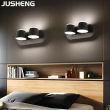Modern Acrylic wall lamp indoor lighting LED mirror headlight dressing table makeup mirror cabinet mirror lamp недорого