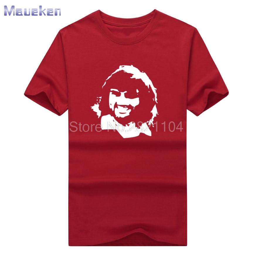 2018 George Best Silhouette Design t-shirt 100% cotton T Shirt Man casual for fans gift 0627-4 image