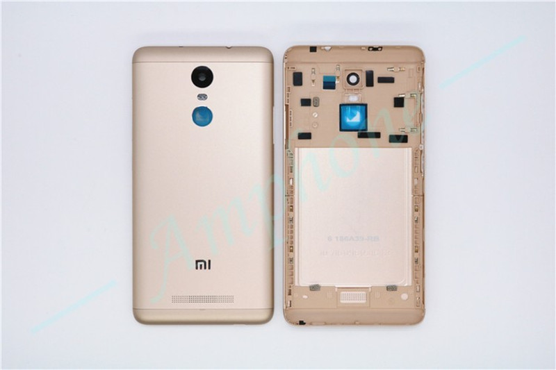 Original for Xiaomi Redmi Note 3 Spare Parts Back Battery Cover Door Housing Side Buttons Camera
