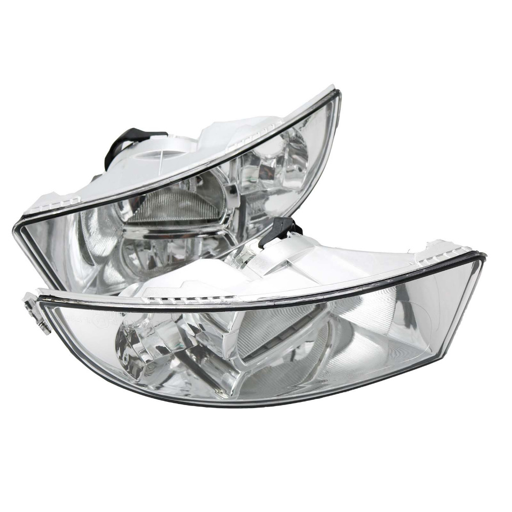 2Pcs For Skoda Octavia A6 MK2 FL 2009 2010 2011 2012 2013 Car-styling Front Halogen Fog Light Fog Lamp With 2 Holes car modification lamp fog lamps safety light h11 12v 55w suitable for mitsubishi triton l200 2009 2010 2011 2012 on