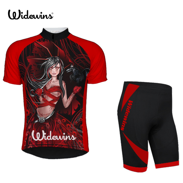 86ebc347c She Devil cycling jersey polyester quick drying woman bike bicycle wear  short clothing ropa ciclismo She Devil cycling 5489