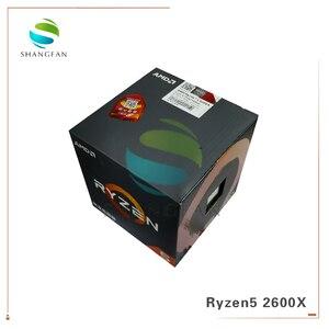 Image 1 - New Box CPU AMD Ryzen5 2600X R5 2600X 3.6 GHz Six Core Twelve Thread 95W CPU Processor YD260XBCM6IAF Socket AM4 With cooler fan