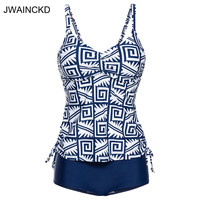 JWAINCKD Swimwear Female Modest Print One Piece Swimsuit Women Vintage Bathing Suit Retro Bathing Suit Strappy Beach Wear Sport