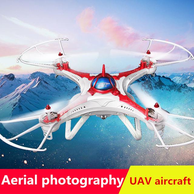 Cuatro Aviones Eje vehículo aéreo no tripulado 2.4G 4CH RC Quadcopter Drone Profesional Sin Cámara de Control Remoto Helicóptero DD032